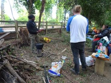 Free family nature activity Knights Hill Wood Lambeth London-15