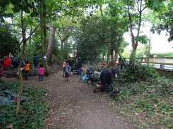 Free family nature activity Knights Hill Wood Lambeth London-3