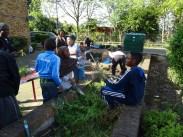 Free Fern Lodge Lambeth Forest School after school children gardening activity-5