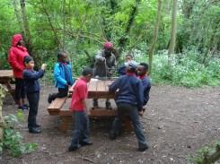 Granton Primary school after school forest school Lambeth London-6