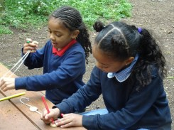 Granton Primary school after school forest school Lambeth London-7