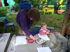 Lollard St Adventure playground free pre-school forest school Lambeth Kennington London-5