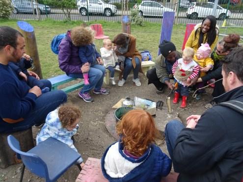 Lollard St Adventure playground free pre-school forest school Lambeth Kennington London-6