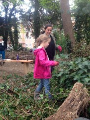 Nature Conservation Knights Hill Wood Lambeth London -3