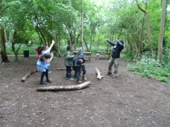 Free after school forest School Lambeth London-6