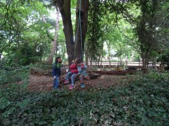 free family event Knights Hill Wood Lambeth London-3