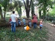 free family nature activity Knight Hill Wood Lambeth London-12