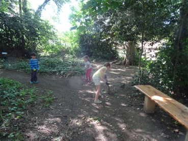 Free family nature activity Knights Hill Wood West Norwood Lambeth London-11