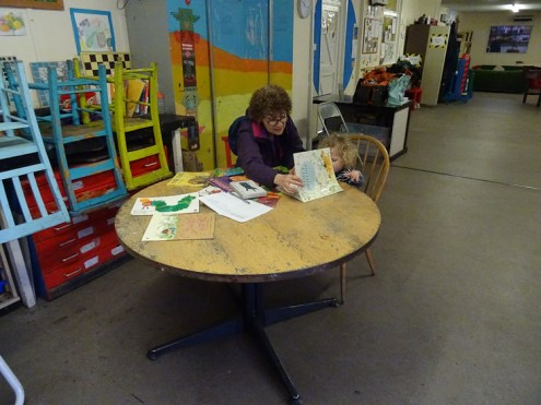 Free pre-school forest school Lollard St Adventure Playground Kennington Lambeth London-1