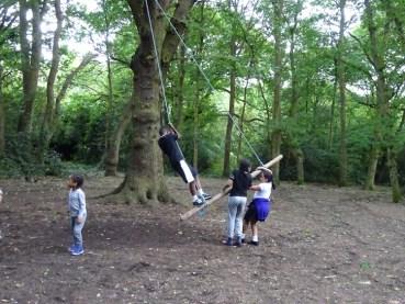 Free after school children Forest School club Lambeth London-17