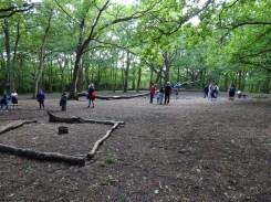Free after school children Forest School club Lambeth London-2
