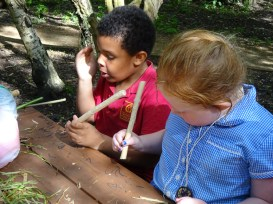 Free After School Forest School Granton Primary Lambeth London-11