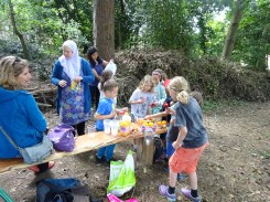 Free Family Forest School Knights Hill Wood Lambeth London-14