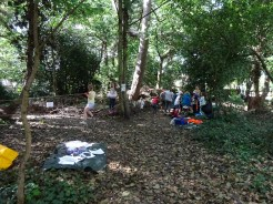 Free Family Forest School Knights Hill Wood Lambeth London-15