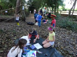 Free Family Forest School Knights Hill Wood Lambeth London-4