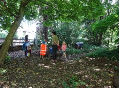 Free Family Forest School Knights Hill Wood Lambeth London-6