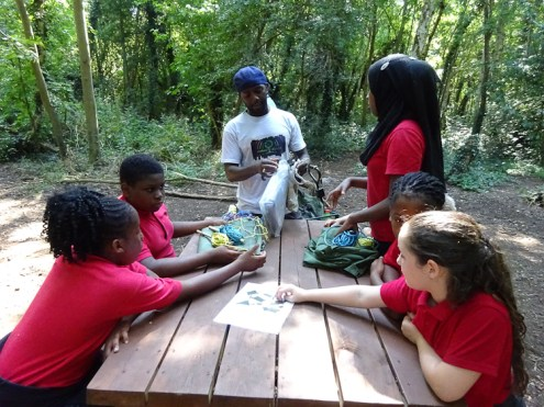 Free after school forest school club Streatham Lambeth London-2