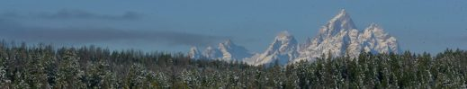 Grand Teton Mountain Range