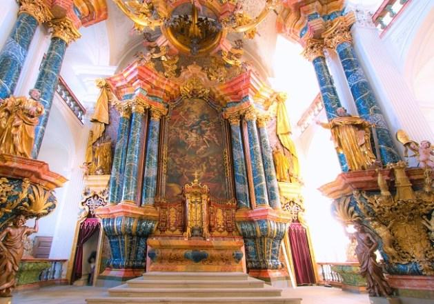 Altar im Kloster Rheinau