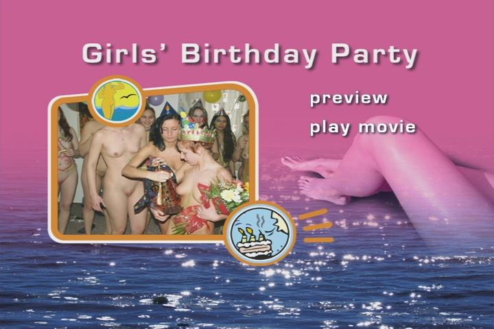 Young nude girls video - Girls Birthday Party