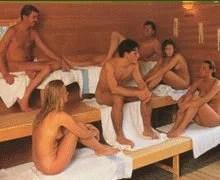 Sauna klein