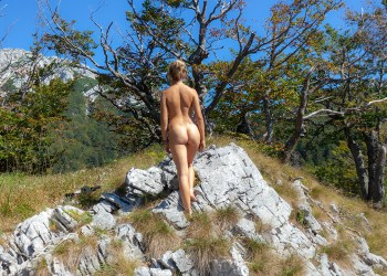 nudist hiking