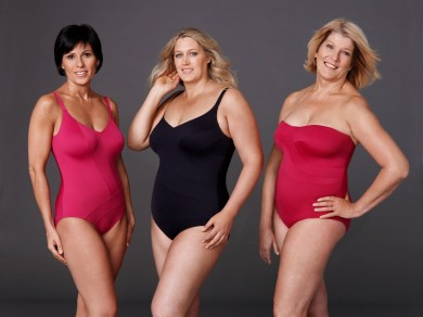 Speedo Sculpture Shapeline Ladies Group Shot