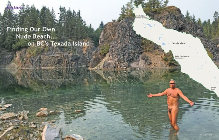 Finding Our Own Nude Beach