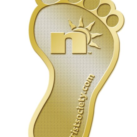Gold Foot Pin ships with Hat