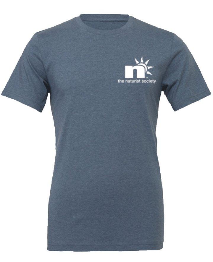 Slate Blue N Logo Tee