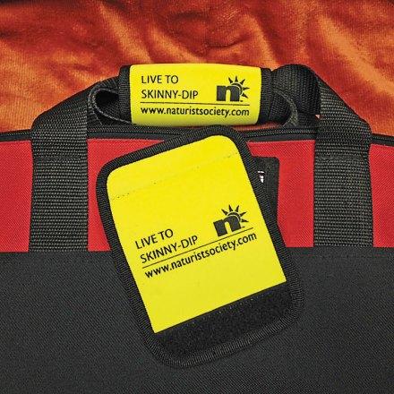 Luggage Handle ID Wrap