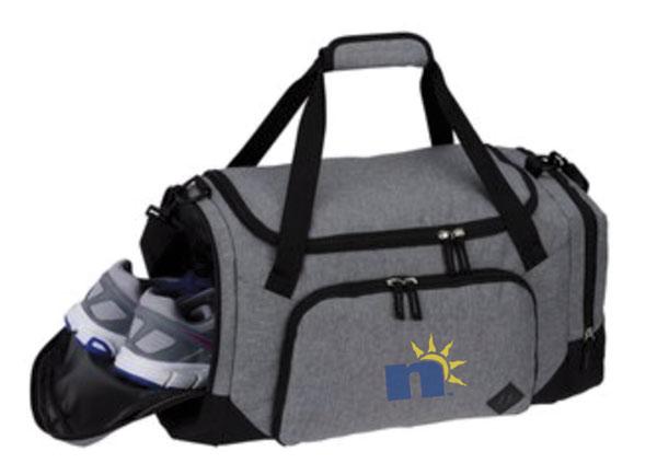 Duffel Bag with n Logo