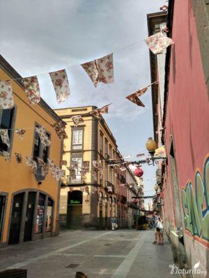 Strasse in Vegueta, Las Palmas de Gran Canaria
