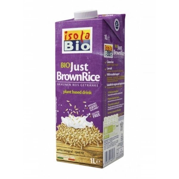 1129 Bebida arroz integral ISOLA BIO 1 L