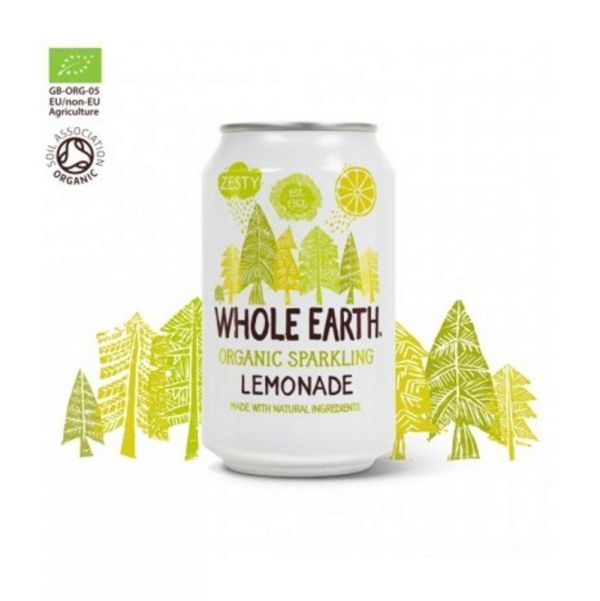 1402 Refresco limon WHOLE EARTH sin azucar 330 ml BIO