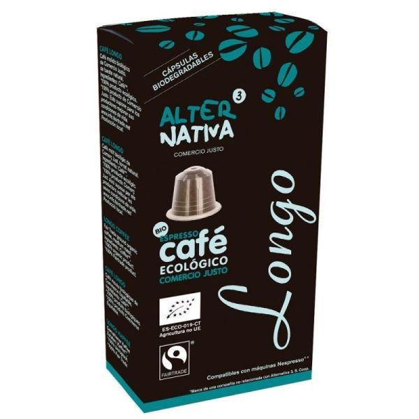 1417 Cafe longo ALTERNATIVA 3 10 capsulas BIO