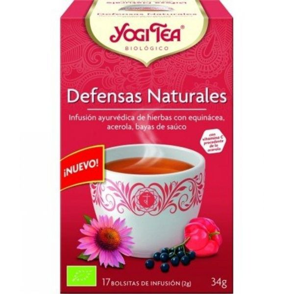 1561 Yogi tea defensas naturales 17 bolsas BIO