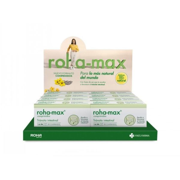 3582 ROHA MAX transito intestinal 30 comprimidos