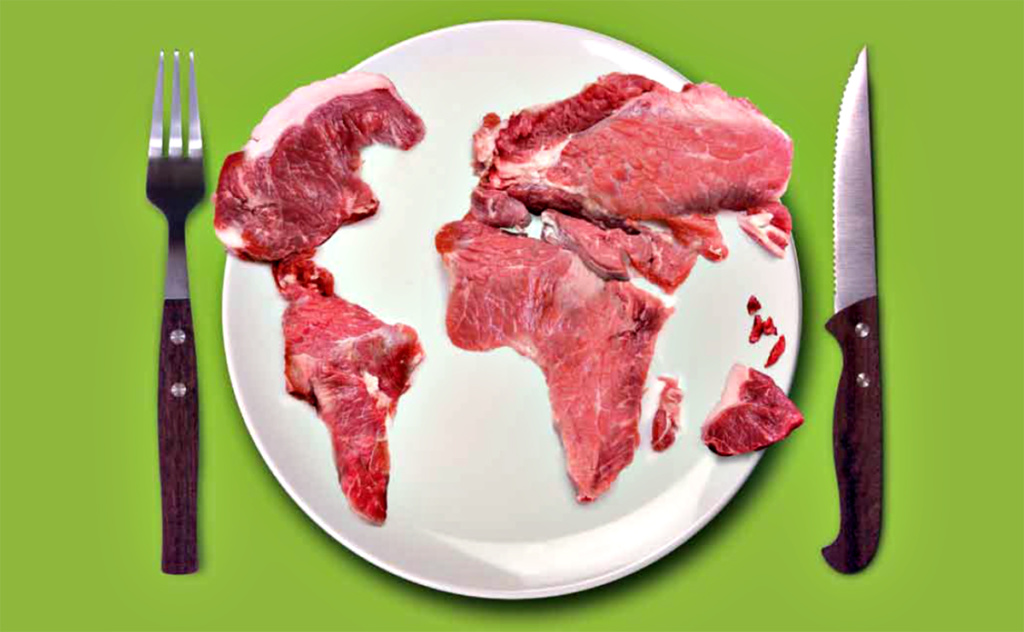 Moins de viande !