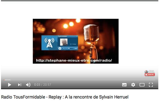Radio tous formadable, Sylvain Herruel Naturopathe