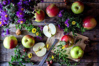 Pommes et fleurs - consultation en naturopathie
