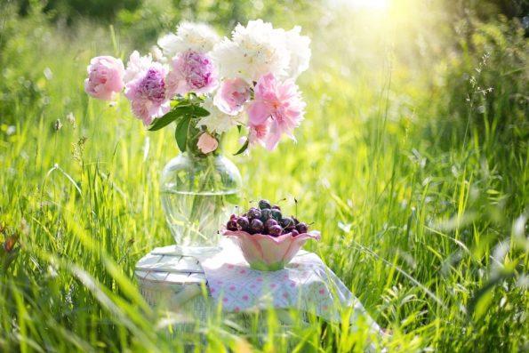 La Naturopathie - Fleurs et cerises