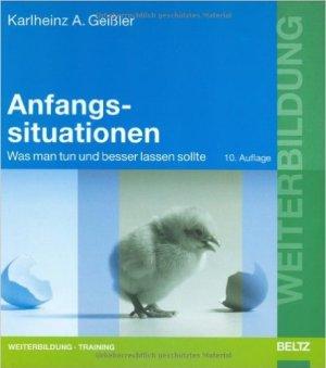 Anfangssituationen - Karlheinz A. Geißler