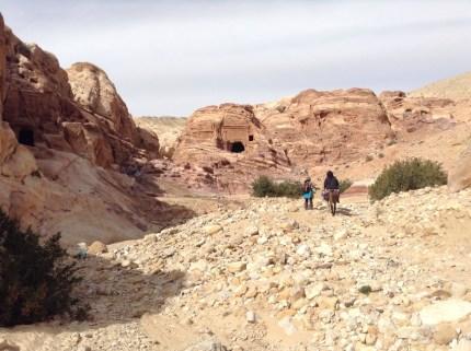 Einsames Wadi Mataha