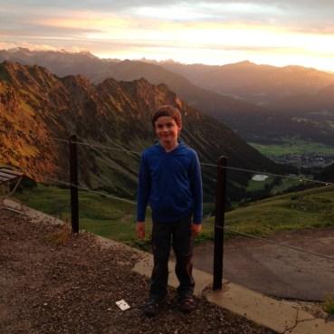 Nebelhorn2016-Sonnenuntergang