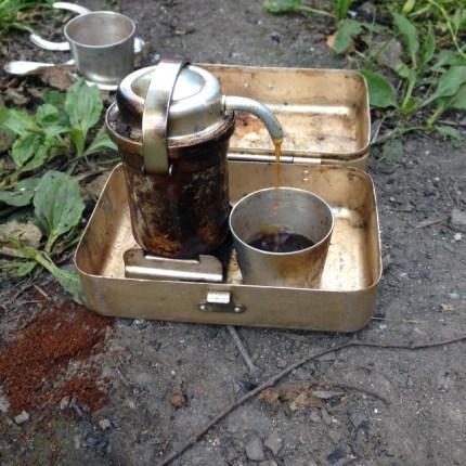 Kaffeekochen wie vor 100 Jahren