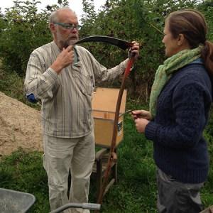 Lær at slå med le @ Naturplanteskolen | Hedehusene | Danmark