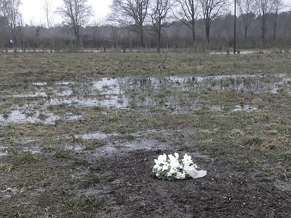 Opgebrachte grond is niet geschikt voor natte periodes en begraven