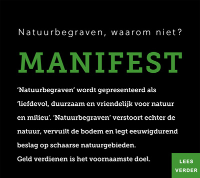 Manifest Natuurbegraven waarom niet?