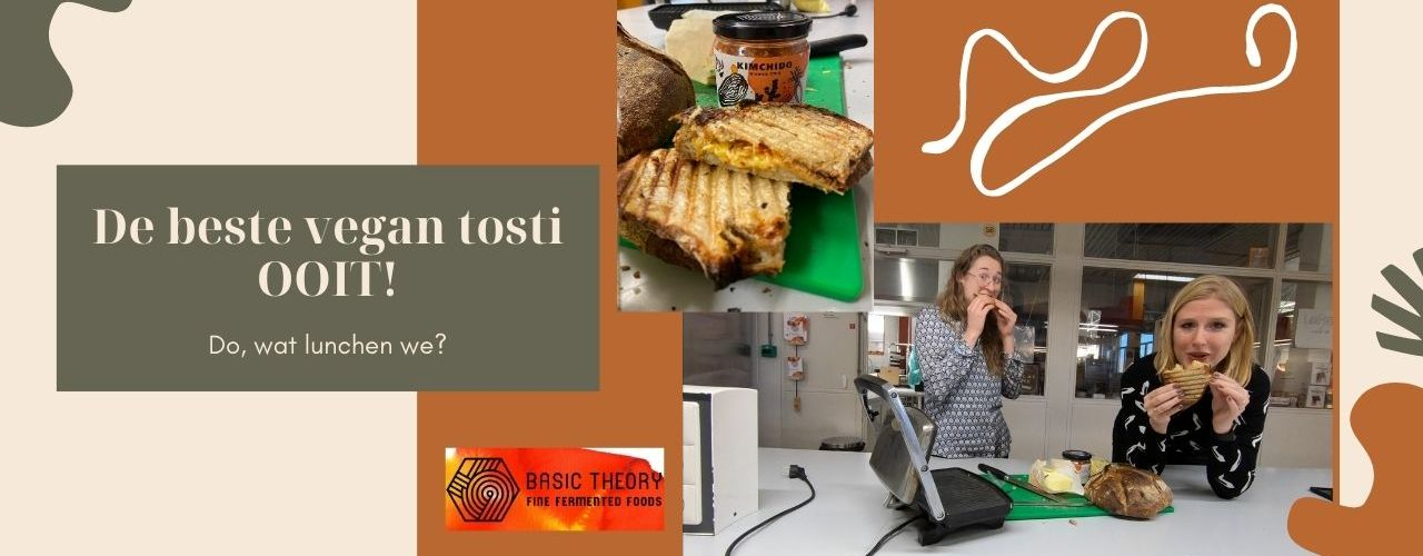Beste vegan tosti ooit